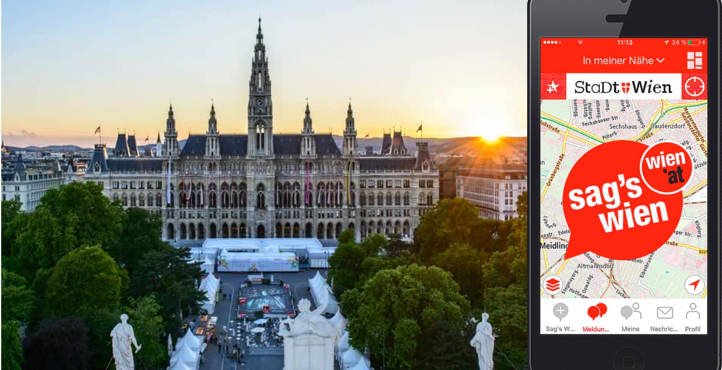 Bild von Sag's Wien Mobile App