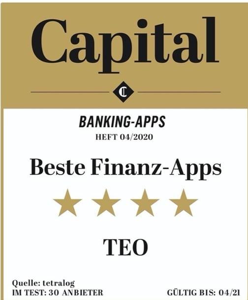 Capital Award für Finnoconsult mit Teo
