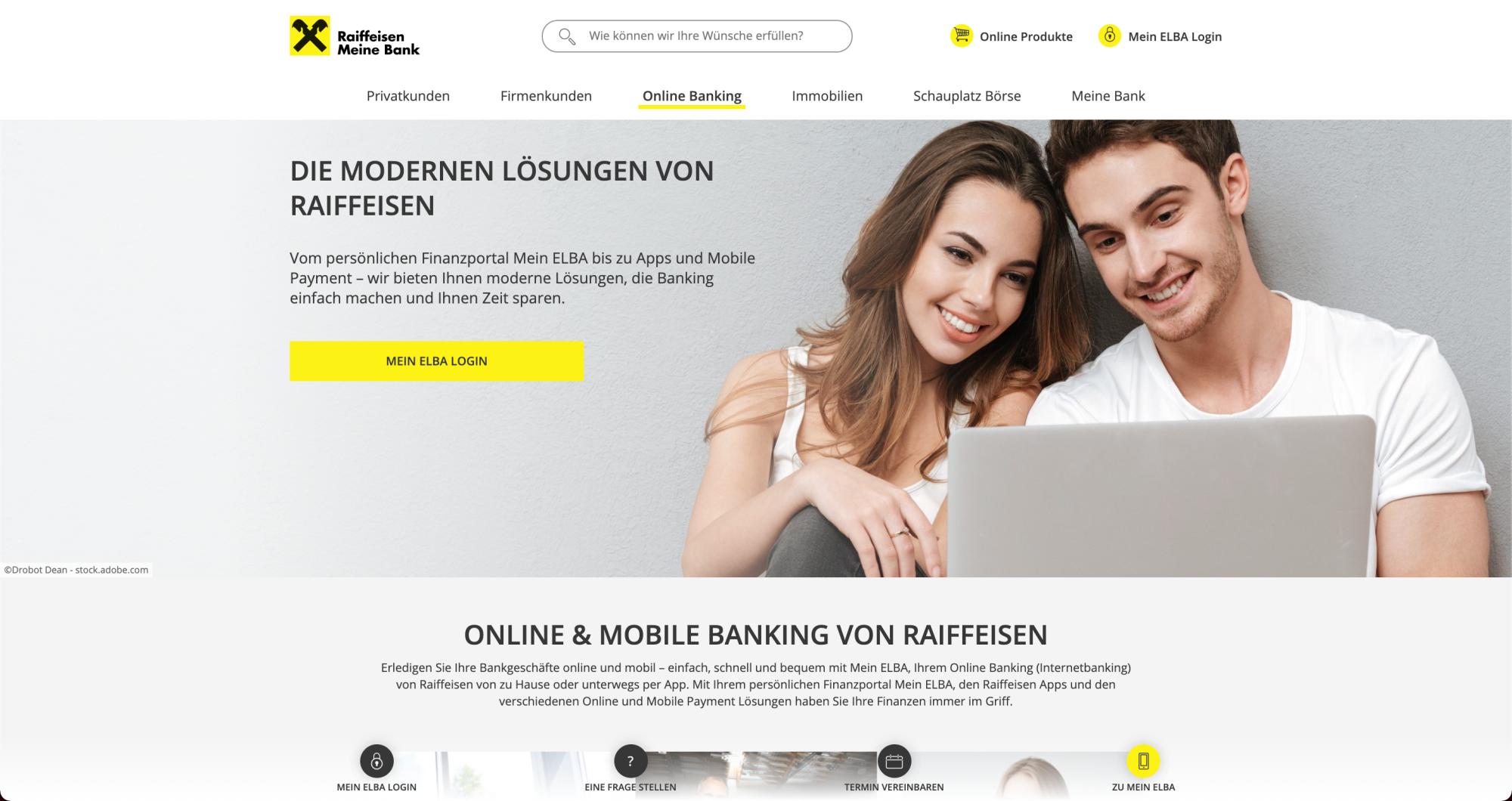 Raiffeisen Vorarlberg Online Banking