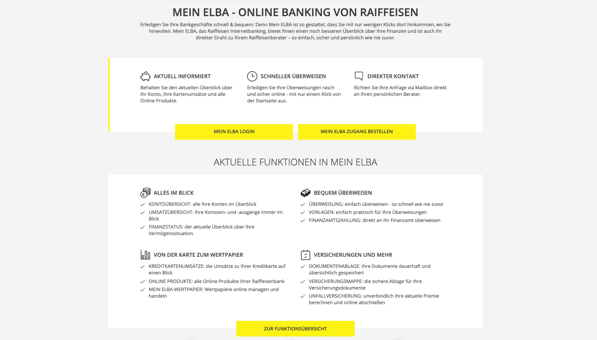 Ueberblick Infos